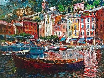 Colori Di Portofino 1985 Limited Edition Print - Marco Sassone