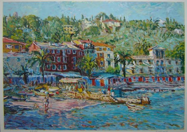 Santa Margarita 1986 Limited Edition Print by Marco Sassone