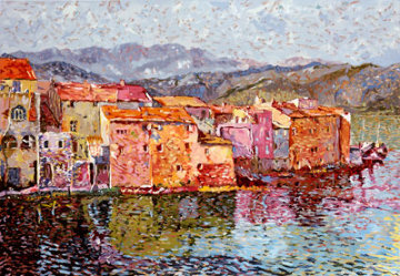 Saint Florent 1989 Limited Edition Print - Marco Sassone