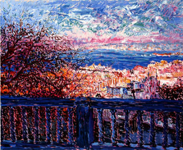 San Francisco Terrace AP 1983 Limited Edition Print by Marco Sassone