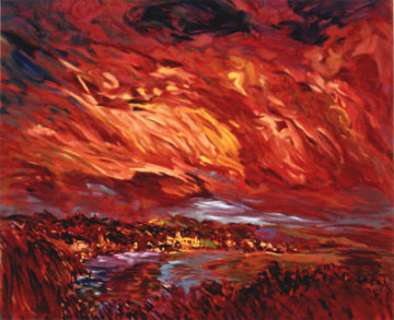 Tramonto AP 1993 Limited Edition Print by Marco Sassone