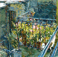 Le Balcon Bleu AP 1988 Limited Edition Print by Marco Sassone - 0