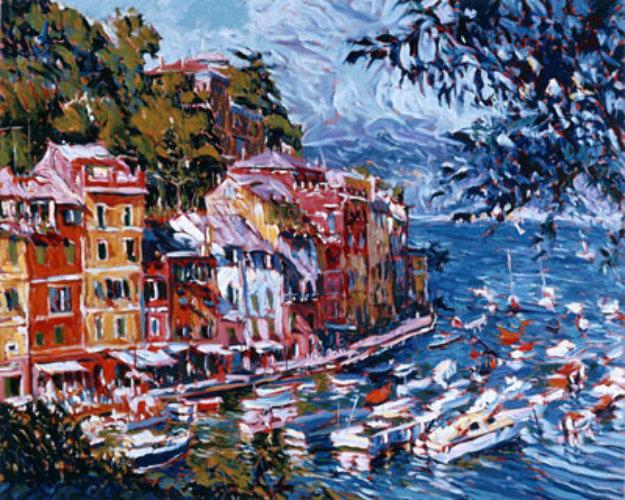 Mediterranean Vista  1992 Limited Edition Print by Marco Sassone