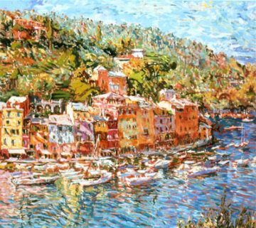 Portofino Reflections AP 1986 Limited Edition Print - Marco Sassone