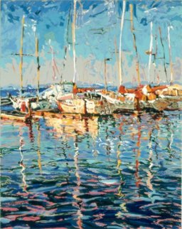 San Francisco Bay AP Limited Edition Print by Marco Sassone