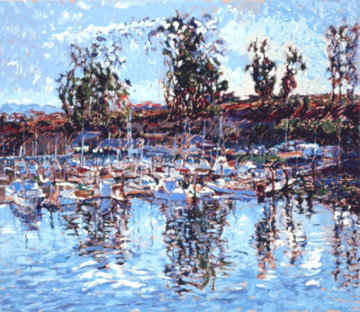 Santa Cruz AP 1982  Limited Edition Print by Marco Sassone