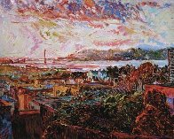 San Francisco Marina Dusk 1986 Limited Edition Print by Marco Sassone - 0