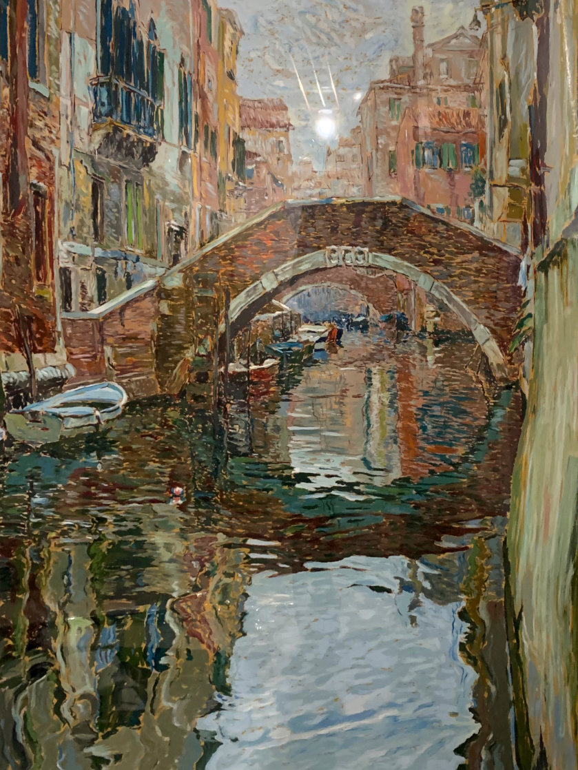 Venice Canal 1988 Limited Edition Print by Marco Sassone