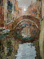 Venice Canal 1988 Limited Edition Print by Marco Sassone - 0