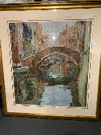 Venice Canal 1988 Limited Edition Print by Marco Sassone - 1
