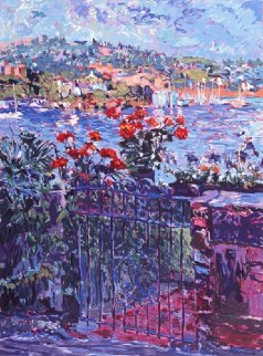 Tiburon Harbor Limited Edition Print - Marco Sassone
