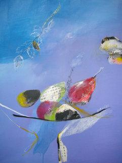 Fruiter Al Cel 2004 48x38 Original Painting - Regina Saura