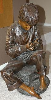 Splinter Bronze Sculpture 1996 28 in Sculpture - Jo Saylors