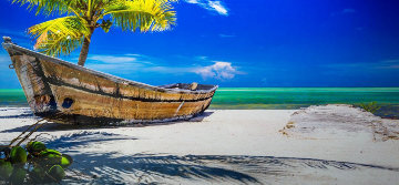 On Island Time Panorama by Rick Scalf