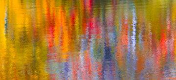 Autumn Symphony Panorama by Rick Scalf