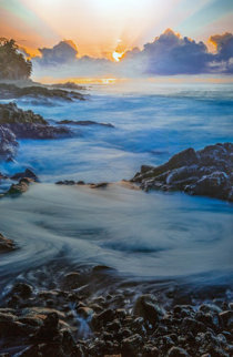 Radiant Glory  Panorama by Rick Scalf