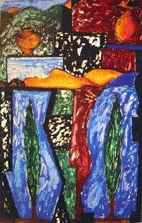 Tujunga 1988 Limited Edition Print by Italo Scanga