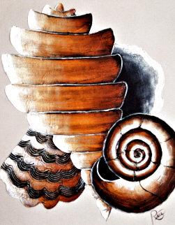 Sunset/Sand Dunes/Shells - Set of 3 Paintings 20x24 Original Painting - Roy Schallenberg