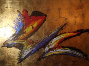 Untitled 46x64 Original Painting - Roy Schallenberg