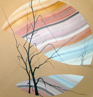 Untitled Painting 48x48 Huge Original Painting - Roy Schallenberg