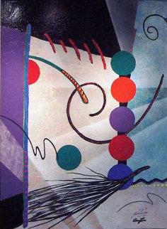Drover 1993 75x55 Super Huge Original Painting - Roy Schallenberg