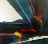 Celestial Visions Series 1995 80x80 Original Painting by Roy Schallenberg - 0