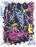 Dark, Rare Complete Set of 7 Lithographs 1989 Limited Edition Print by Kenny Scharf - 6