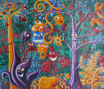 Juicy Jungle 1988 Limited Edition Print - Kenny Scharf