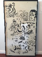Untitled Early Work 1990 51x29 Super Huge Other by Kenny Scharf - 1