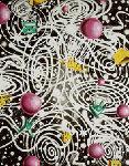 Kozmik 2002 Embellished Limited Edition Print - Kenny Scharf