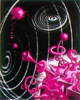 Galaxiverse 1998 Limited Edition Print - Kenny Scharf