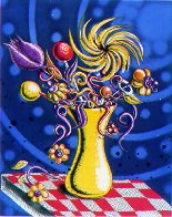Towers of Flowers 2001 Limited Edition Print by Kenny Scharf - 0