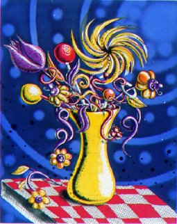 Towers of Flowers 2001 Limited Edition Print - Kenny Scharf