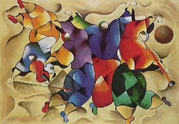 Dance the Fiddler 1995 Limited Edition Print - David Schluss