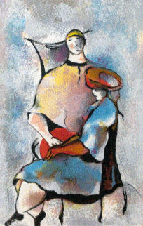 Sisters 1995 Limited Edition Print by David Schluss