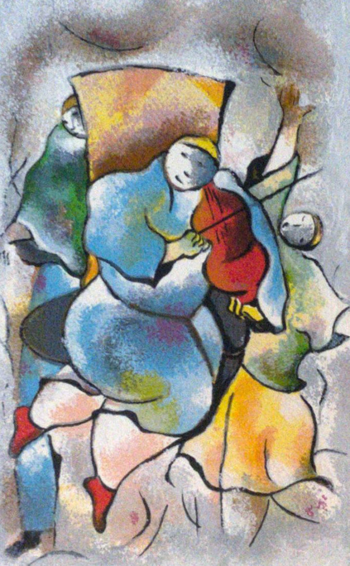 Untitled (Dancing Figures) 1995 Limited Edition Print by David Schluss