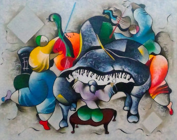 Toccata 2004 Limited Edition Print by David Schluss