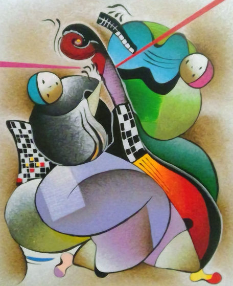 Harmony Duet 2004 Limited Edition Print by David Schluss