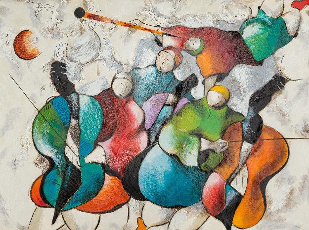Orchestra 1996 by David Schluss