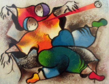 Twist About AP 1999 Limited Edition Print by David Schluss