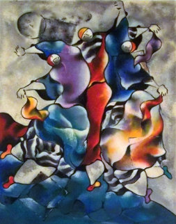 Arabesque by the Sea 1997 Limited Edition Print by David Schluss