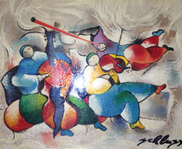 Tango Suite of 4 Lithographs AP 1998 Limited Edition Print - David Schluss