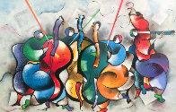 Quartet 1999 Limited Edition Print by David Schluss - 0
