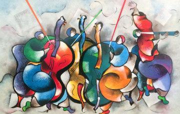 Quartet 1999 Limited Edition Print by David Schluss