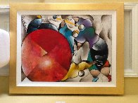 Untitled Painting 1997 55x45 Super Huge  Original Painting by David Schluss - 5