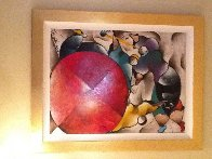 Untitled Painting 1997 55x45 Super Huge  Original Painting by David Schluss - 4