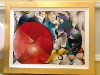 Untitled Painting 1997 55x45 Super Huge  Original Painting by David Schluss - 3