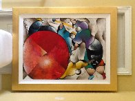 Untitled Painting 1997 55x45 Super Huge  Original Painting by David Schluss - 1