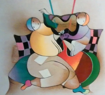 Musical Serenade 2004 Limited Edition Print by David Schluss