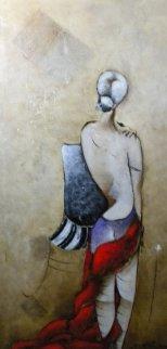 Summer Night 59x36 Huge Original Painting - David Schluss